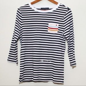 Tommy Hilfiger Striped Long Sleeve Shirt